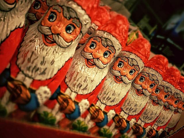 Figurines de Père Noël
