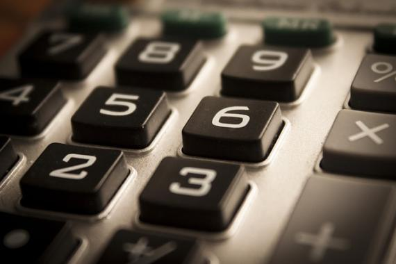 Clavier de calculette