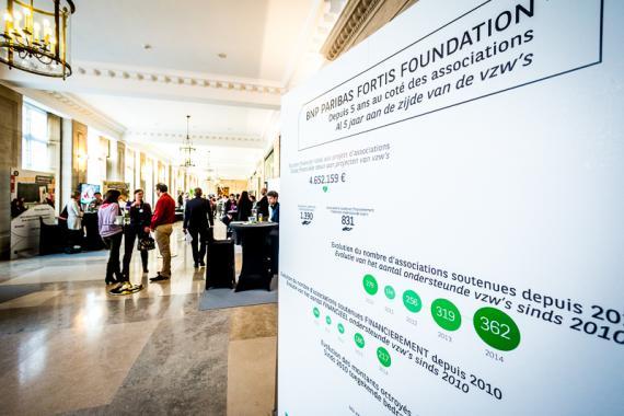 Évènement organisé par la Fondation BNP Paribas Fortis