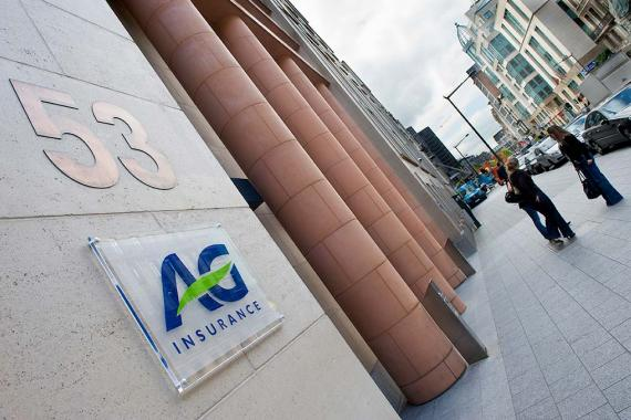 Siège d'AG Insurance à Bruxelles