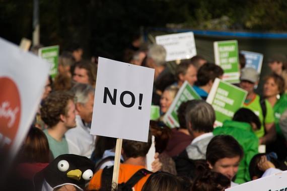 Manifestation de rue