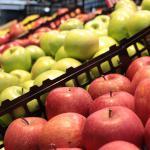 Caisses de pommes
