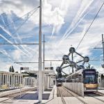 Quartier de l'Atomium à Bruxelles
