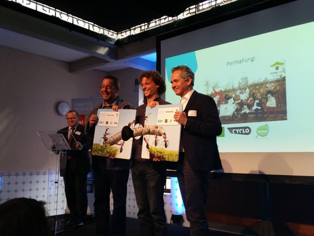 Cérémonie de remise des prix du Sustainable Partnerships Award 2016