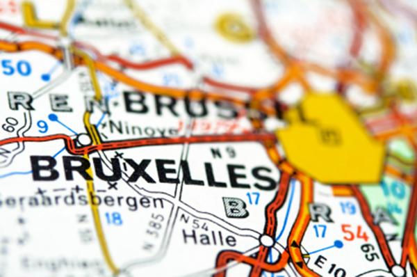 Carte géographique (Bruxelles)